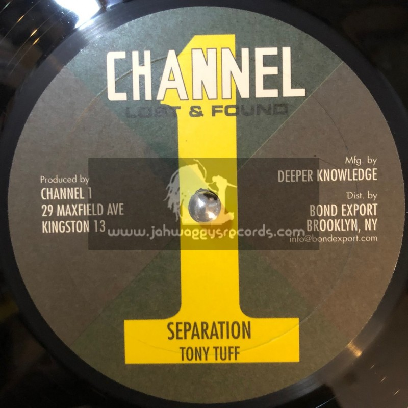 """Channel 1-10""""-Come Along + Separation / Tony Tuff"""