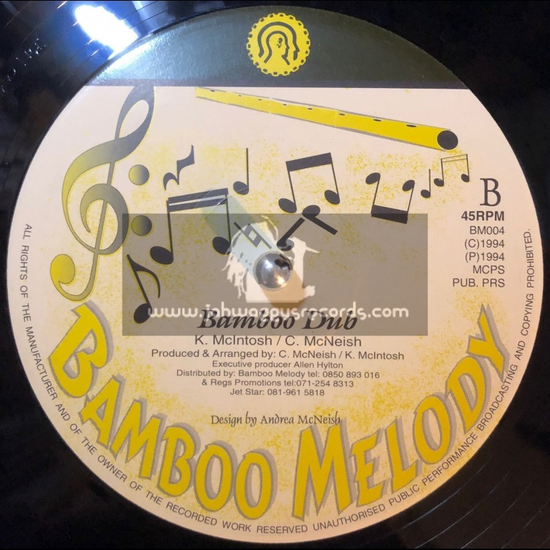 """BAMBOO MELODY-12""""-I M A BELIEVER/PAUL FENTON + BAMBOO DUB (1994)"""