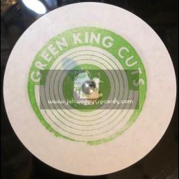 "Green King Cuts-7""-Dubplate-Fire Stone / Maasai Warrior"