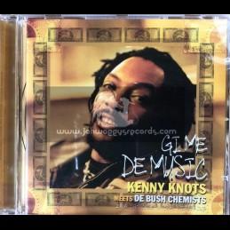 Conscious Sounds-CD-Gi Me De Music / Kenny Knots Meets De Bush Chemists