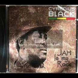 Conscious Sounds-CD-Jah Is My Rock / Cyrenius Black