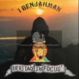Obzaki-Lp-Heritage In Focus / I Benjahman