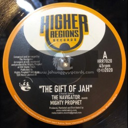 """Higher Regions Records-7""""-The Gift Of Jah / The Navigator Meets Mighty Prophet"""