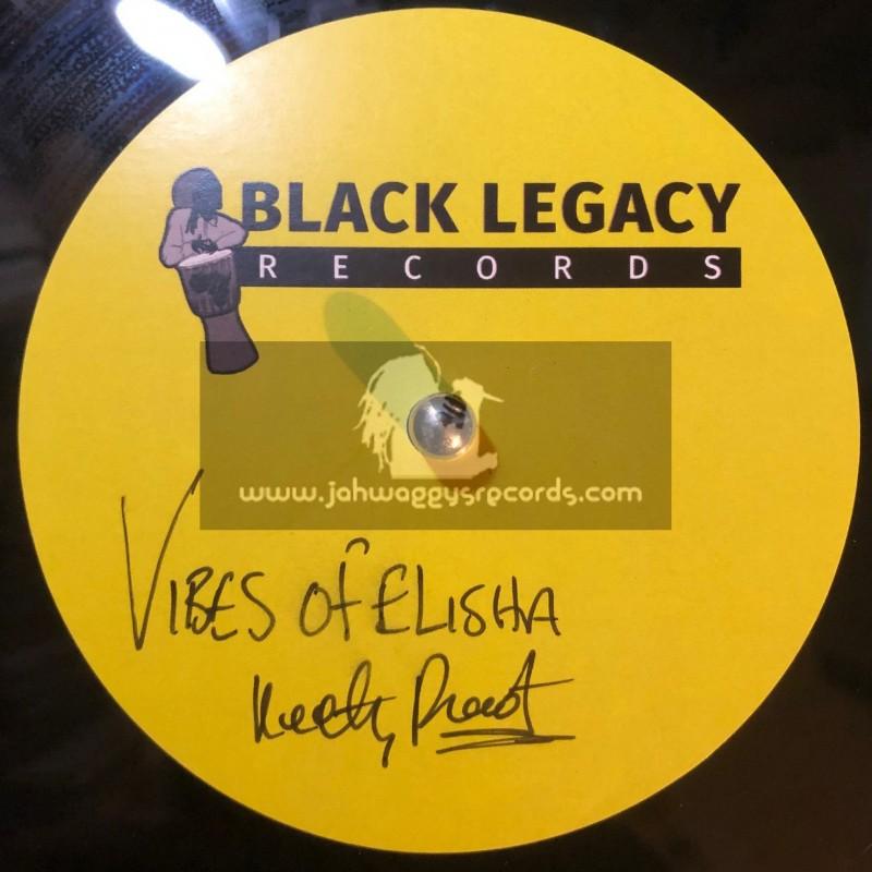 "Black Legacy Records-10""-Dubplate-Vibes Of Elisha / Keety Roots"
