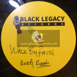 "Black Legacy Records-10""-Dubplate-Walk Of Faith / Keety Roots"