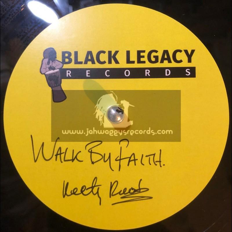 "Black Legacy Records-10""-Dubplate-Walk Of Faith / Keety Roots"