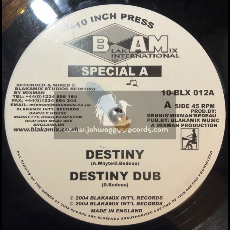 "Blakamix International-10""-Destiny / Special A + Destination Afrika / Mixman"