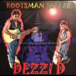 Vibes House-Lp-Roots Man Stylee / Dezzi D