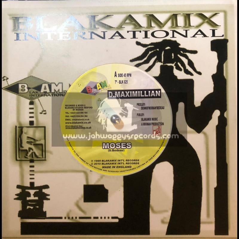 "Blakamix International-7""-Moses / D.Maximillian"
