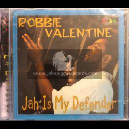 Blakamix-CD-Jah Is My Defender / Robbie Valentine
