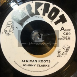 """Jackpot-7""""-African Roots / Johnny Clarke"""