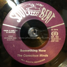 """Soul Beat-7""""-Something New / Conscious Minds + Funny Feeling / Gaylads"""