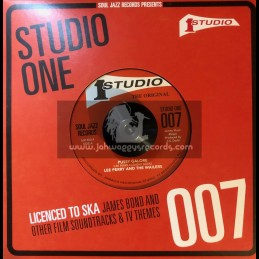 "Studio One-7""-Pussy Galore / Lee Perry & The Wailers + Mr Flint / The Soul Brothers"