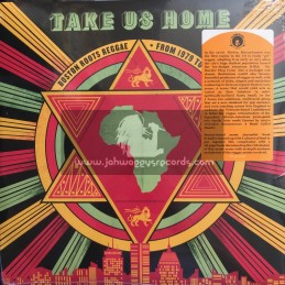Cultures Of Soul Records-Double Lp-Take Us Home : Boston Roots Reggae (From 1979 To 1988)