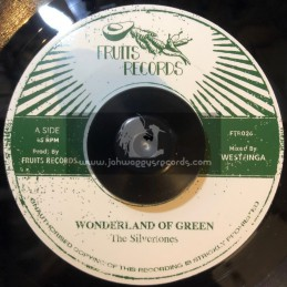 "Fruits Records-7""-Wonderland Of Green / The Silvertones"
