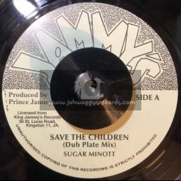 "Jammys-7""-Save The Children-Dubplate Mix / Sugar Minott + Slaughterhouse Five-Dubplate Mix / Prince Jammy"