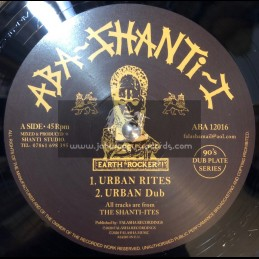 "Aba Shanti I-12""-Urban Rites / The Shanti Ites + Rejoice / The Shanti Ites"
