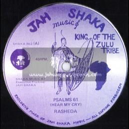 """Jah Shaka Music-12""""-Psalms 61-Hear My Cry / Sister Rasheda"""