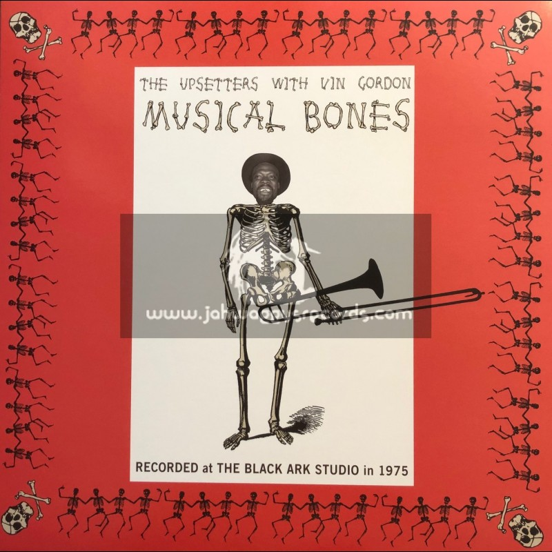 Studio 16-Lp-Musical Bones / The Upsetters With Vin Gordon