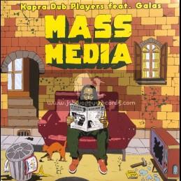 "Capra Records-10""-Mass Media / Kapra Dub Players feat. Galas"