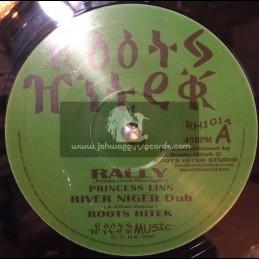 "Roots Hi Tek-10""-Rally / Princess Linn + Lift Up / Murry Man"