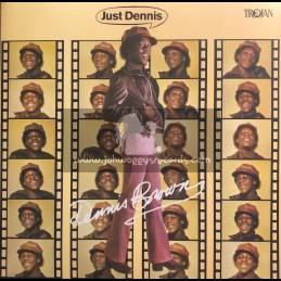 Trojan Records -Lp-Just Dennis / Dennis Brown