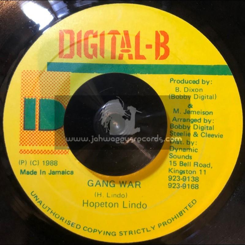 "Digital-B-7""-Gang War / Hopeton Lindo"