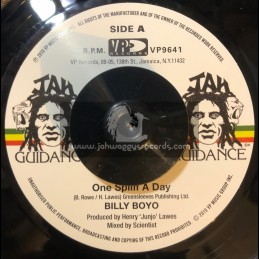 "Jah Guidance-7""-One Spliff A Day / Billy Boyo"