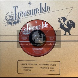 "Treasure Isle-7""-True Confession / The Silvertones + (How) Know Your Friend / Derrick Morgan"