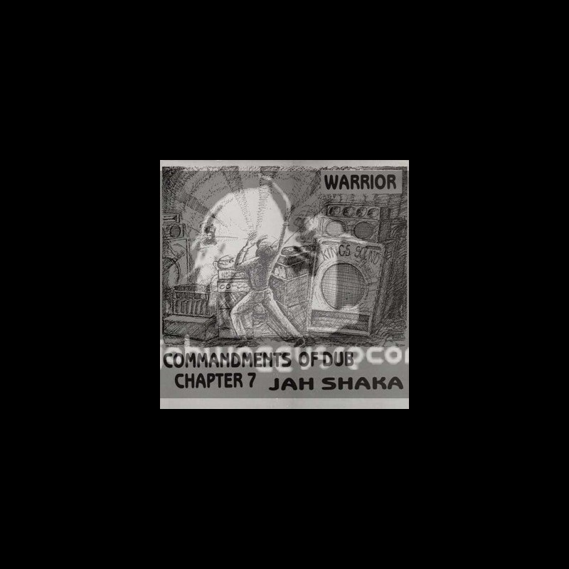 Jah Shaka Music-LP-Warrior / Commandments Of Dub Chapter 7