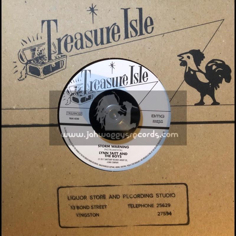 "Treasure Isle-7""-Storm Warning / Lynn Taitt + The Army Is Searching / Basil Caral & Group"