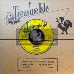 "Treasure Isle-7""-Renegade / The Zodiacs + Smokey Ska / The Baba Brooks Band"