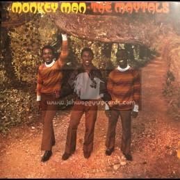 Trojan Records-Lp-Monkey Man / The Maytals 