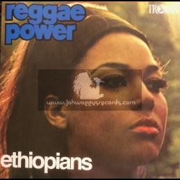Trojan Records-Lp-Reggae Power / The Ethiopians