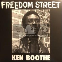 Trojan Records-Lp-Freedom Street / Ken Boothe