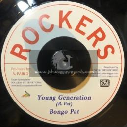 "Rockers-7""-Young Generation / Bongo Pat + New Style / Augustus Pablo"