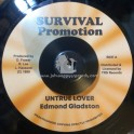 "Survival Promotion-7""-Untrue Lover / Edmond Gladston"
