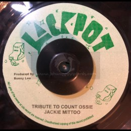 "Jackpot-7""-Tribute To Count Ossie / Jackie Mittoo"