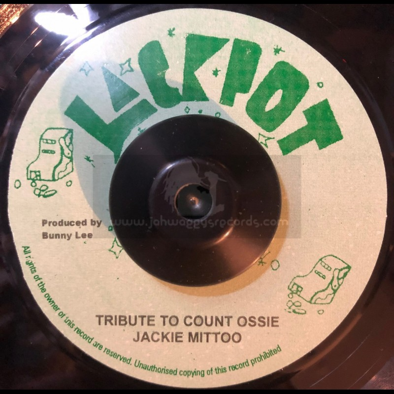 """Jackpot-7""""-Tribute To Count Ossie / Jackie Mittoo"""