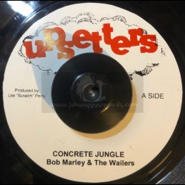 "Upsetters-7""-Concrete Jungle / Bob Marley & The Wailers"