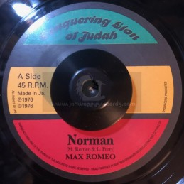 "Conquering Lion Of Judah-7""-Norman / Max Romeo"