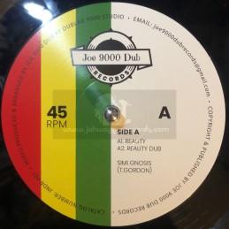 "Joe 9000 Dub Records-10""-Reality / Simi Gnosis + More Reality / King Fisher"