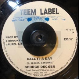 "Teem Label-7""-Call It A Day / George Decker"