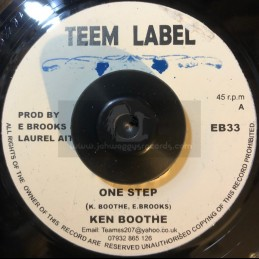 "Teem Label-7""-One Step / Ken Boothe"