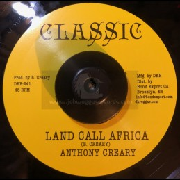 """Classic-7""""-Land Call Africa / Anthony Creary + Africa Dub / Solid Foundation Band"""