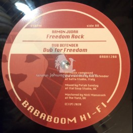 "Bababoom Hi Fi-12""-Freedom Chant / Ramon Judah + Freedom Rock / Ramon Judah"