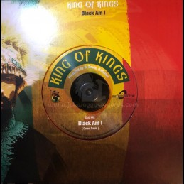 "Ghetto Youths International-7""-King Of Kings / Black Am I ‎"