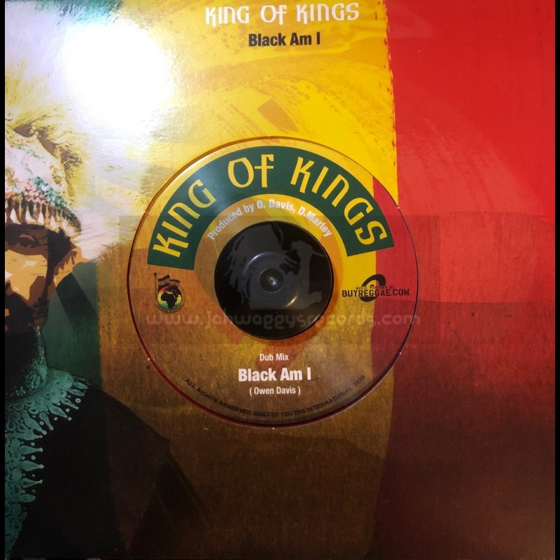 "Ghetto Youths International-7""-King Of Kings / Black Am I "