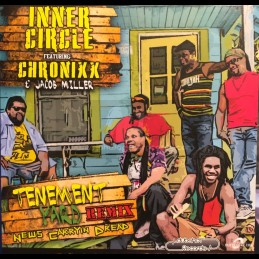 "DubShot Records-7""-Tenement Yard/Inner Circle&Jacob Miller + News Carrying Dread / Inner Circle Featuring Chronixx&Jacob Miller"