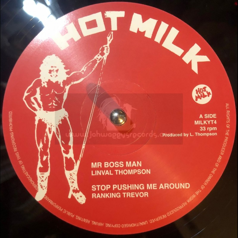 "Hot Milk-12""-Mr Boss Man / Linval Thompson"